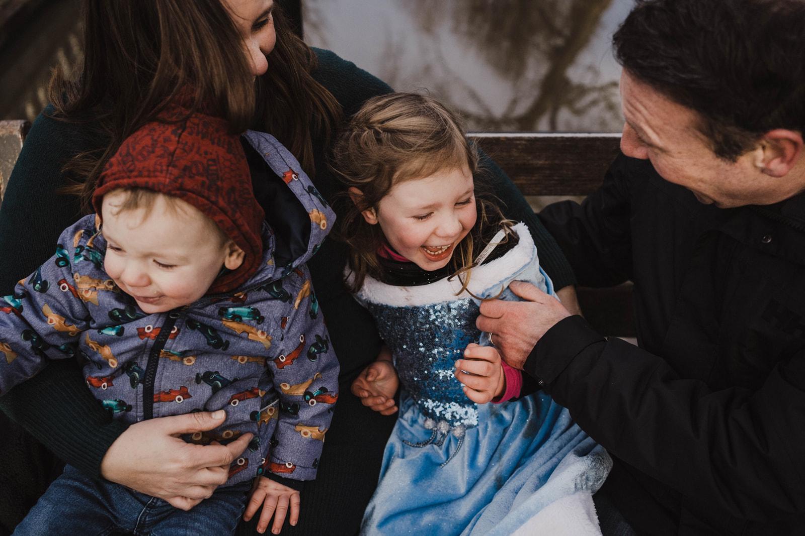FAMILIE // Winterse shoot in hartje Utrecht